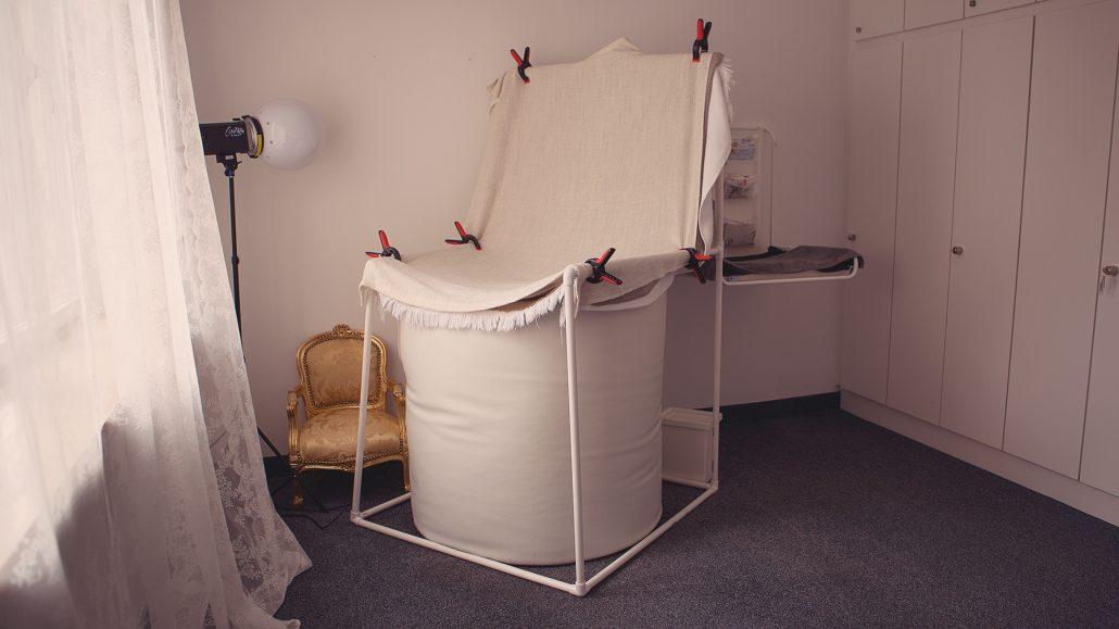 das ist das Newbornzimmer, gerne fotografiere ich hier auch mit reinem Tageslicht :)